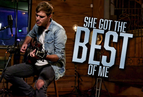 "Reviver Music's Michael Tyler Releases His Cover of ""She Got the Best of Me"" by Luke Combs"