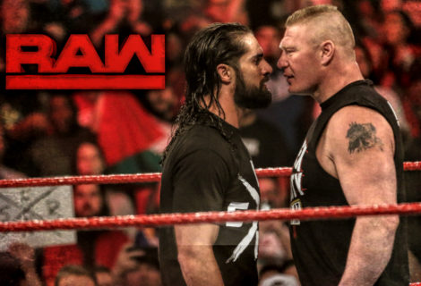 Bob Mulrenin's Photo Diary: Brock Lesnar's Multiple F5's on Seth Rollins Highlights WWE Monday Night RAW