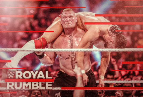 Hustle Photo Book: Brock Lesnar Defends the Universal Title Against Finn Balor at the WWE Royal Rumble