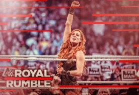 Hustle Photo Book: Surprise Entrant Becky Lynch Wins the 2019 Women's Royal Rumble Match
