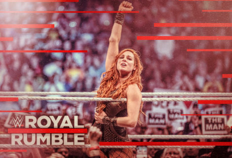 Hustle Photo Book: Surprise Entrant Becky Lynch Wins the 2019 Women's Royal Rumble Match