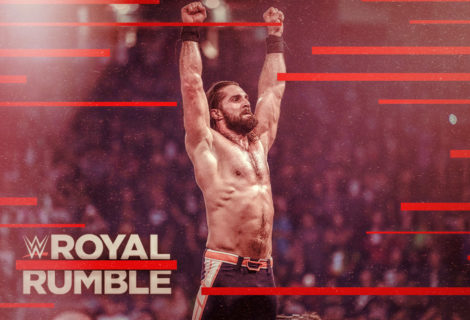 Hustle Photo Book: Seth Rollins Wins the 2019 Men's WWE Royal Rumble