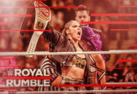 Hustle Photo Book: Ronda Rousey Retains the WWE RAW Women's Title Against Sasha Banks at the Royal Rumble