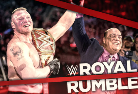 Brock Conquers Balor at WWE Royal Rumble