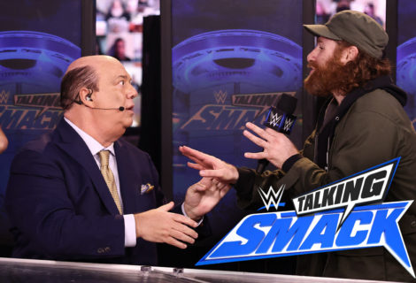 Sami Zayn Loses His Mind on WWE #TalkingSmack