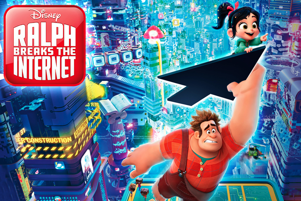 Check Out Wreck-It Ralph Breaks the Internet's Trailer #2